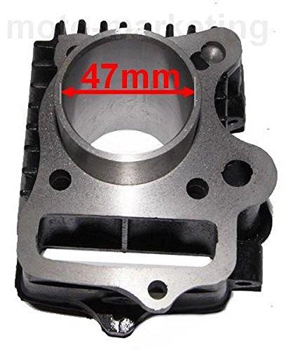 Unbranded 70 CCM Zylinder KIT Set KOMPLETT f/ür China Quad ATV 4 TAKT 147FMB Motor Zylinderkit