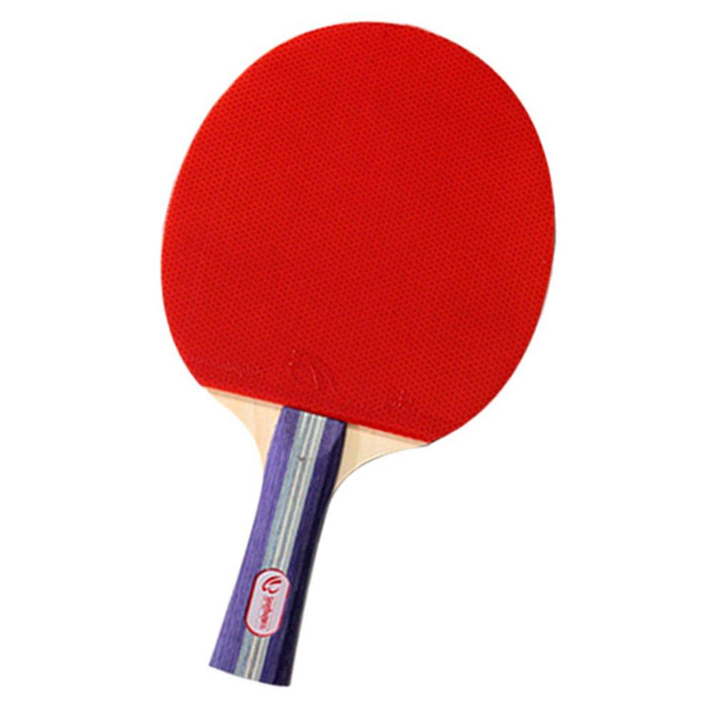テーブルテニスラケットピンポンパドル卓球ラケットポーチレッドインドアテーブルテニスアクセサリー B0748M5BPM