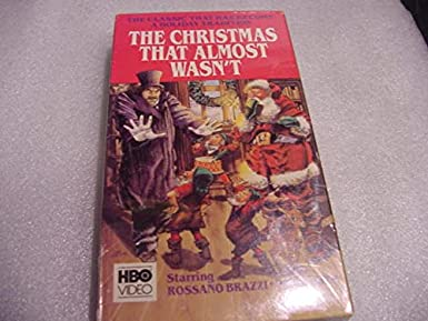 Almost Christmas Means It Wasnt Christmas.Amazon Com The Christmas That Almost Wasn T Vhs Mischa
