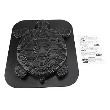 FTVOGUE - Molde para Tortuga con Piedra de Escalar para pavimento de hormigón, para jardín, césped, pavimento: Amazon.es: Jardín