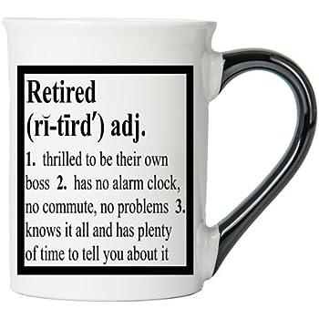 Retired Mug, Retired Coffee Cup, Stoneware Mug By Tumbleweed