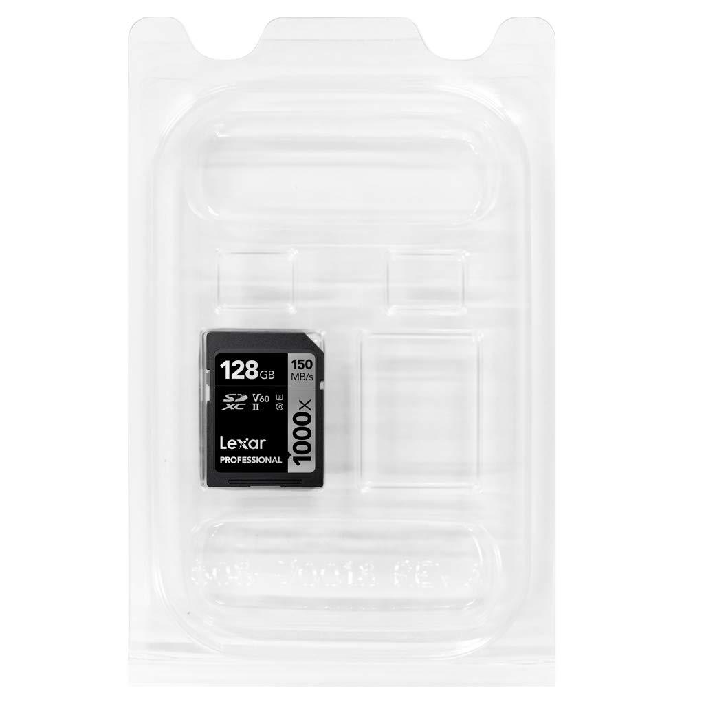 Tarjeta Lexar Professional 1000x 128GB SDXC UHS-II [Embalaje ...