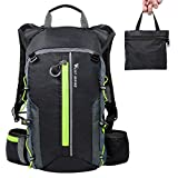 10L Foldable Hydration Backpack, Lightweight Waterproof Durable Camping Daypack Bicycle Rucksack, Outdoor Folding