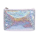 EJY Women Sequin Coin Purse Mini Wallet Money Bag Pouch Key Card Holder Girl Gift