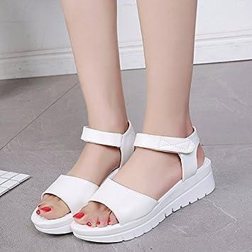 Lgk & FA d'été Sandales pour femme pointu épais Chaussures Chaussures en daim talons hauts pour femme Chaussures, noir, 39