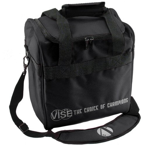 Vise 1 Ball Tote Black Bowling Bag