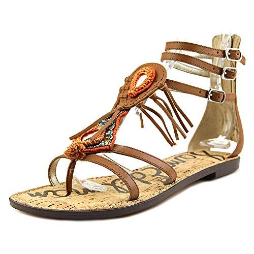 Sam Edelman Women's Genesee Gladiator Sandal, Saddle, 7 M US