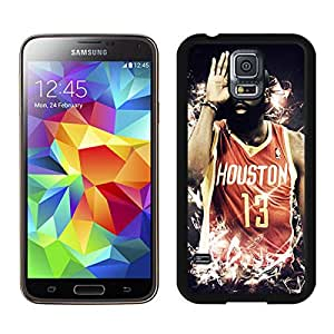 Popular And Durable Designed Case With Houston Rockets James Harden 4 Black For Samsung Galaxy S5 I9600 G900a G900v G900p G900t G900w Phone Case