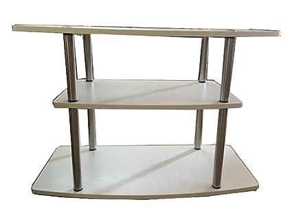 Prime Amazon Com 3 Tier Tv Stand Decor Modern Wood Flat Screen Machost Co Dining Chair Design Ideas Machostcouk
