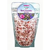 1 Pound Organic Rose Lavender Himalayan Pink Relaxing Sea Bath Salts (Handcrafted In Canada )