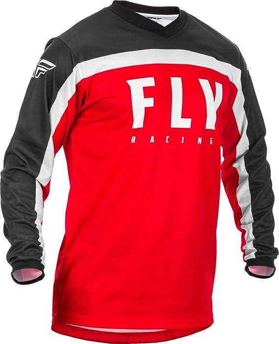 Fly Racing Jersey F-16 Grau//Schwarz//Orange