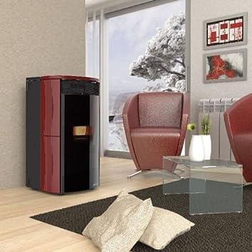 Ungaro Estufa termostufa a Pellets sin Kit Agua Sanitaria Mod. F Classic 6 - 24 Acero - Aqa F 6 - 24: Amazon.es: Hogar