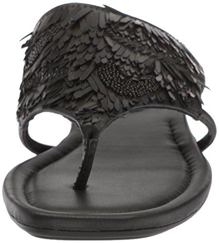 Donald J Pliner Women's Kya Slide Sandal, Black, 10 Medium US by Donald J Pliner (Image #4)