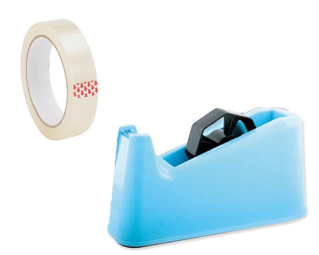 1 X JUMBO Giant Extra Heavy Duty Sellotape Tape Dispenser +1 Free Sellotape Weighted Anti Slip SST-UK