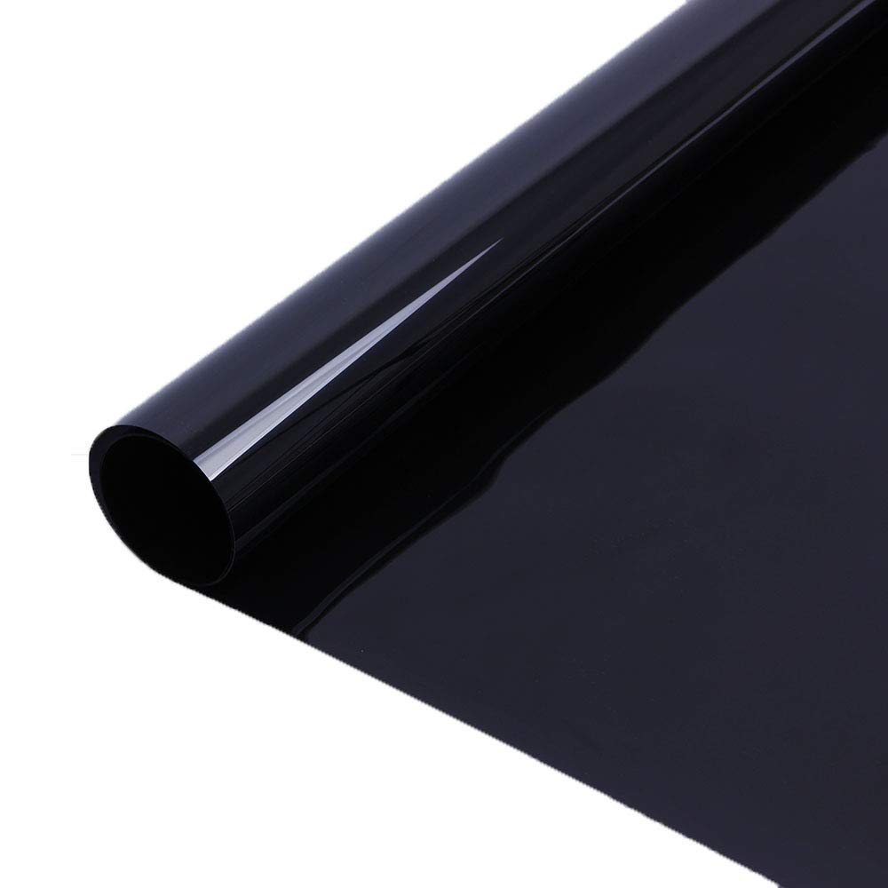 HOHO nero scuro finestra tinta 5% per auto finestra laterale autoadesivo tinta film roll Uncut roll Solar tinta per auto Car Home