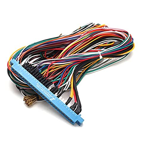 28 Pins Jamma Harness Cabinet Wire Wiring Loom For Arcade Game PCB Video Board by Atomic Market - Jamma Arcade Board