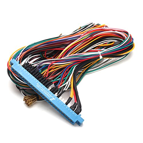 new 28 Pins Jamma Harness Cabinet Wire Wiring Loom For ... I Wire Wiring Harness on wire harness repair, wire harness fasteners, wire harness tubing, wire harness testing, wire harness connectors, wire harness assembly,