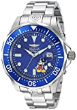 Invicta Men's 'Disney Limited Edition' Automatic Stainless Steel Diving Watch, Color:Silver-Toned (Model: 24497)