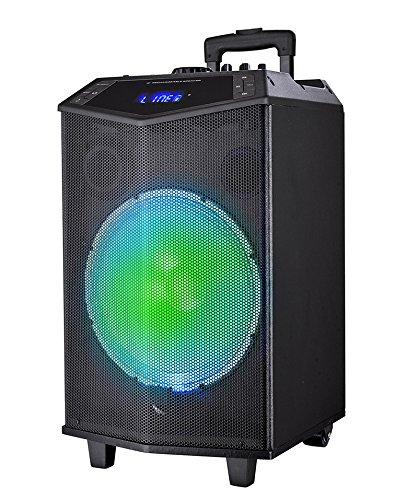 Sytech sy-xtr32 Prism - Altavoz Trolley Profesional 100w, Color Negro.: Amazon.es: Electrónica