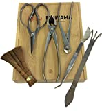 (6) Piece Bonsai Tool Set by Fujiyama - Stainless Steel