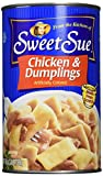 At Sweet Sue we believe that the best products are made with the freshest ingredients so you can feel confident serving them to your family. Our made from scratch chicken and dumplings offer healthy, home-style cooking with the bonus of conve...
