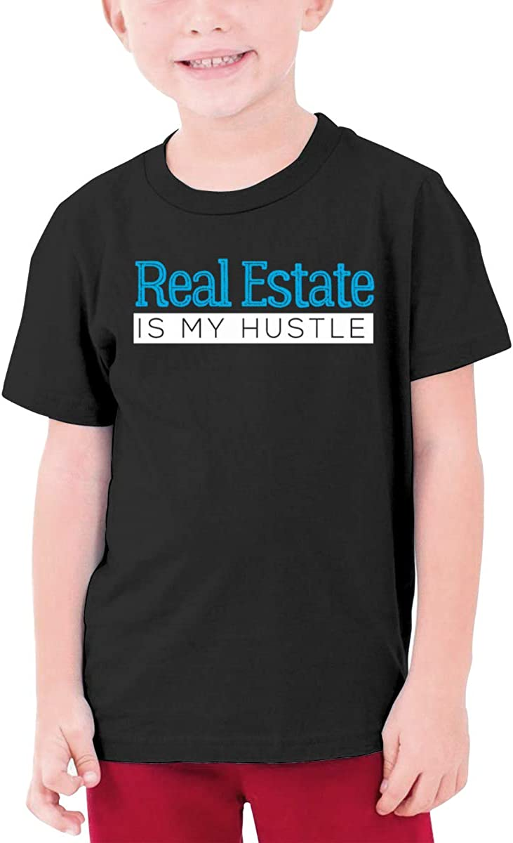 Real Estate is My Hustle Boys Short-Sleeve Shirt