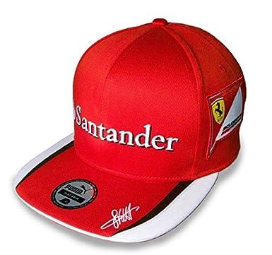 ferrari f1 team wear 2015 teamwear scuderia baseball cap flat brim