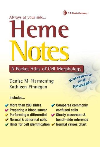 Heme Notes: A Pocket Atlas of Cell Morphology (Mlt Study Guide)