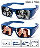 Super Clear | IMAX 3D Glasses For Movie/Cinema/Theaters | 2 PACK