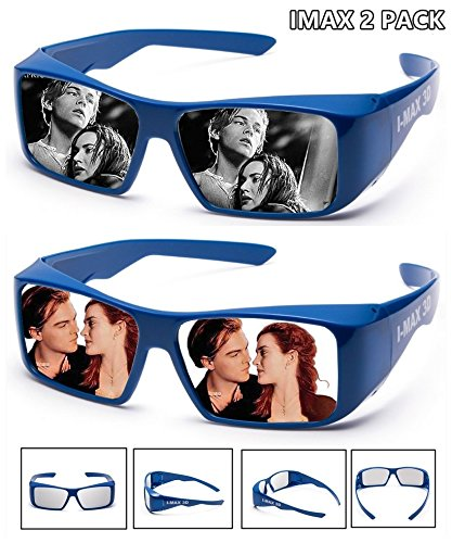 - Super Clear | IMAX 3D Glasses For Movie/Cinema/Theaters | 2 PACK
