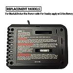 Caricabatteria-di-ricambio-per-Black-Decker-per-Stanley-For-Porter-cable-108V-20V-Batteria-agli-ioni-di-litio-BDCAC202-PCC692L-LB20-LBXR20