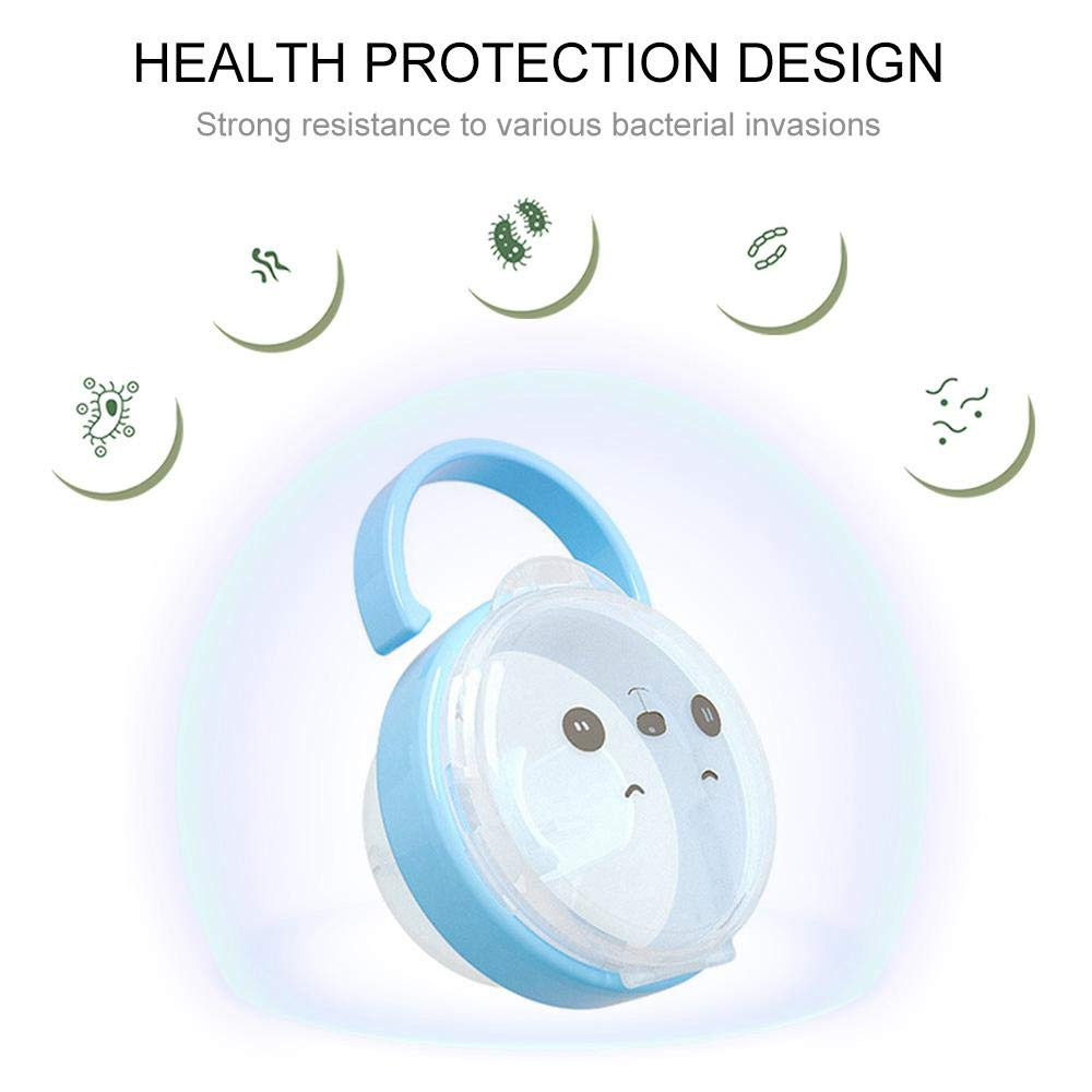 PurePouch BPA-Free Nipple Shield Case and Pacifier Case for Any Infant Pacifiers /& Breastshields Baby Pacifier Case Newborn