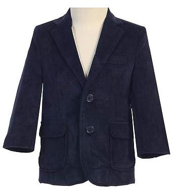 c1e764f27a8d Amazon.com  Lito-Navy Corduroy Blazer  Clothing