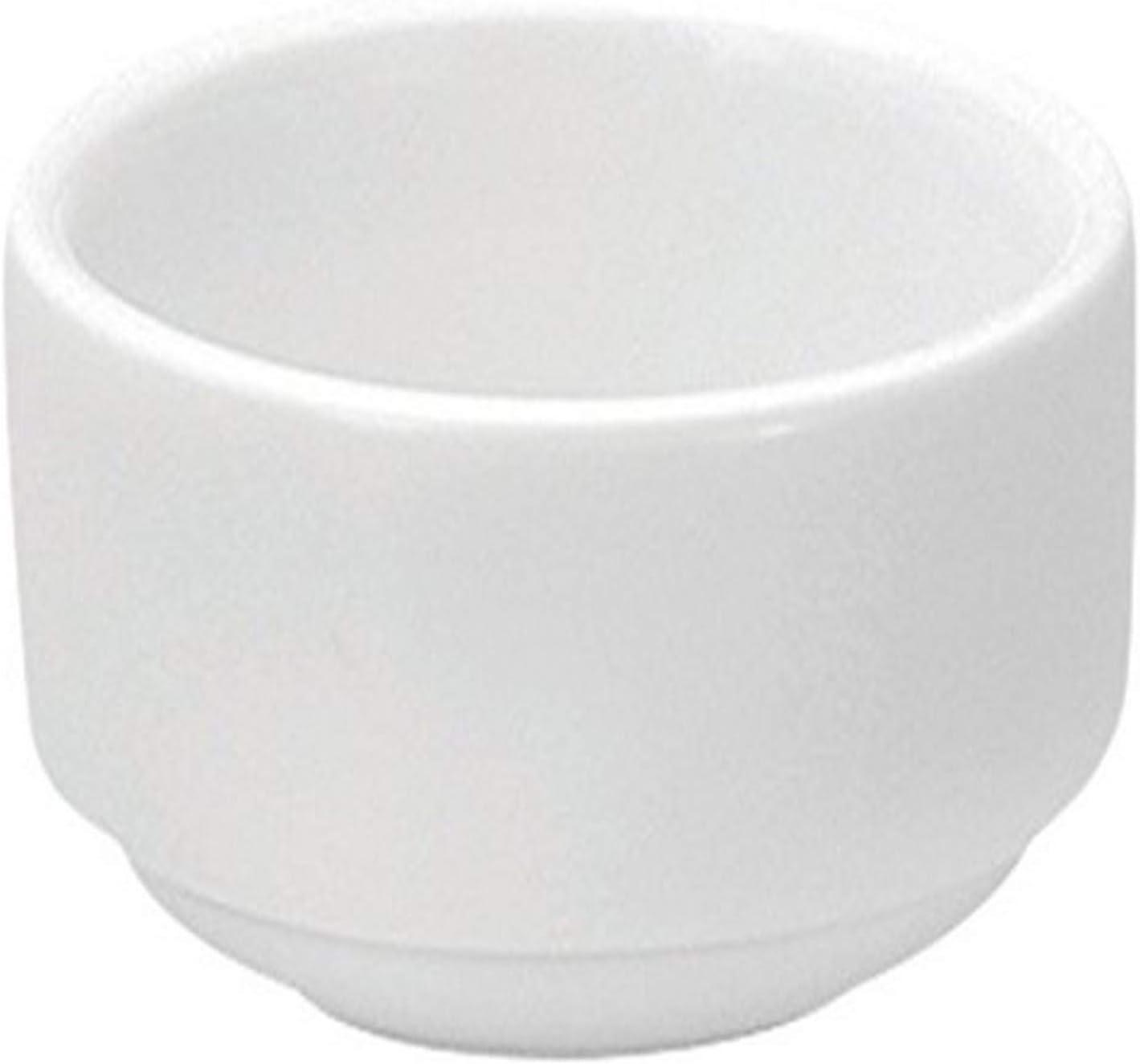 Oneida Foodservice Bright White Porcelain, Set of 72, Mini Ramekin