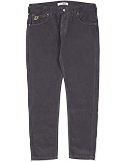 Lois Jeans Hombre Pantalones de Pana Sierra Fina, Azul ...