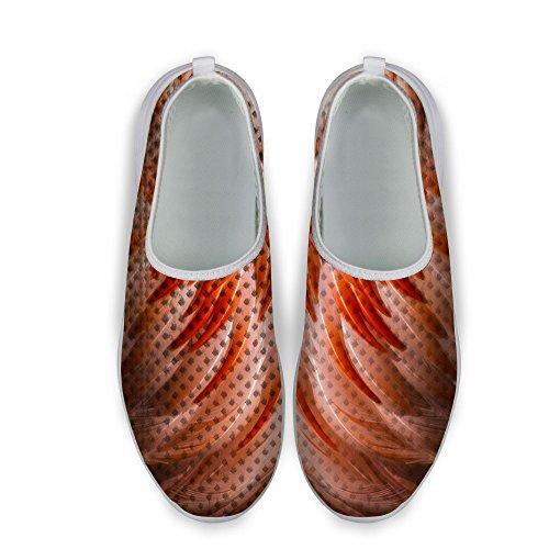 Mesh DESIGNS Red Running Shoes U Casual FOR Women's Fashion Walking pX5Bq