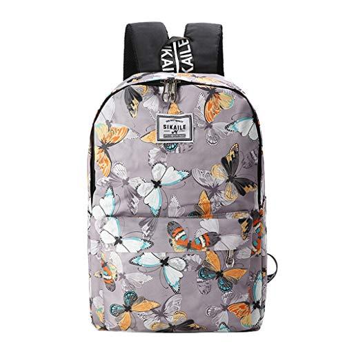 Chanel Messenger Handbag - Tigivemen Fashion Waterproof School Package,Women/Men Fashion Nylon Oxford Starry Pattern Backpacks,Printing Multicolor School Bags
