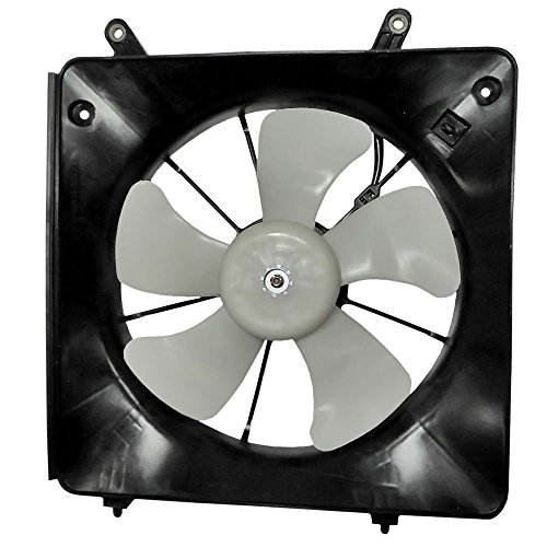 Denso Type Radiator Cooling Fan Assembly Replacement for 1998-2002 Honda Accord 4 cyl 19020-PAA-A01 AutoAndArt (Fan 4 Cyl A/c)