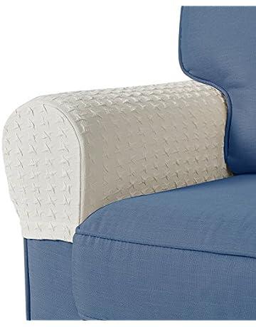 Guken Armrest Covers Anti-Slip Spandex Armchair Slipcovers Elastic  Stretchable Furniture Protector 039b6db4f1