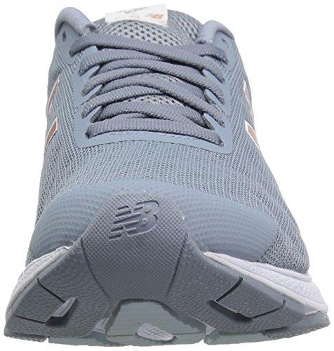 New Balance - Zapatillas de running de mezcla de tejidos para mujer gris gris Grey/Pink