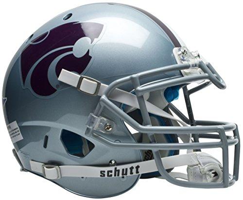 Schutt NCAA On-Field Authentic XP Football Helmet, Kansas State Wildcats