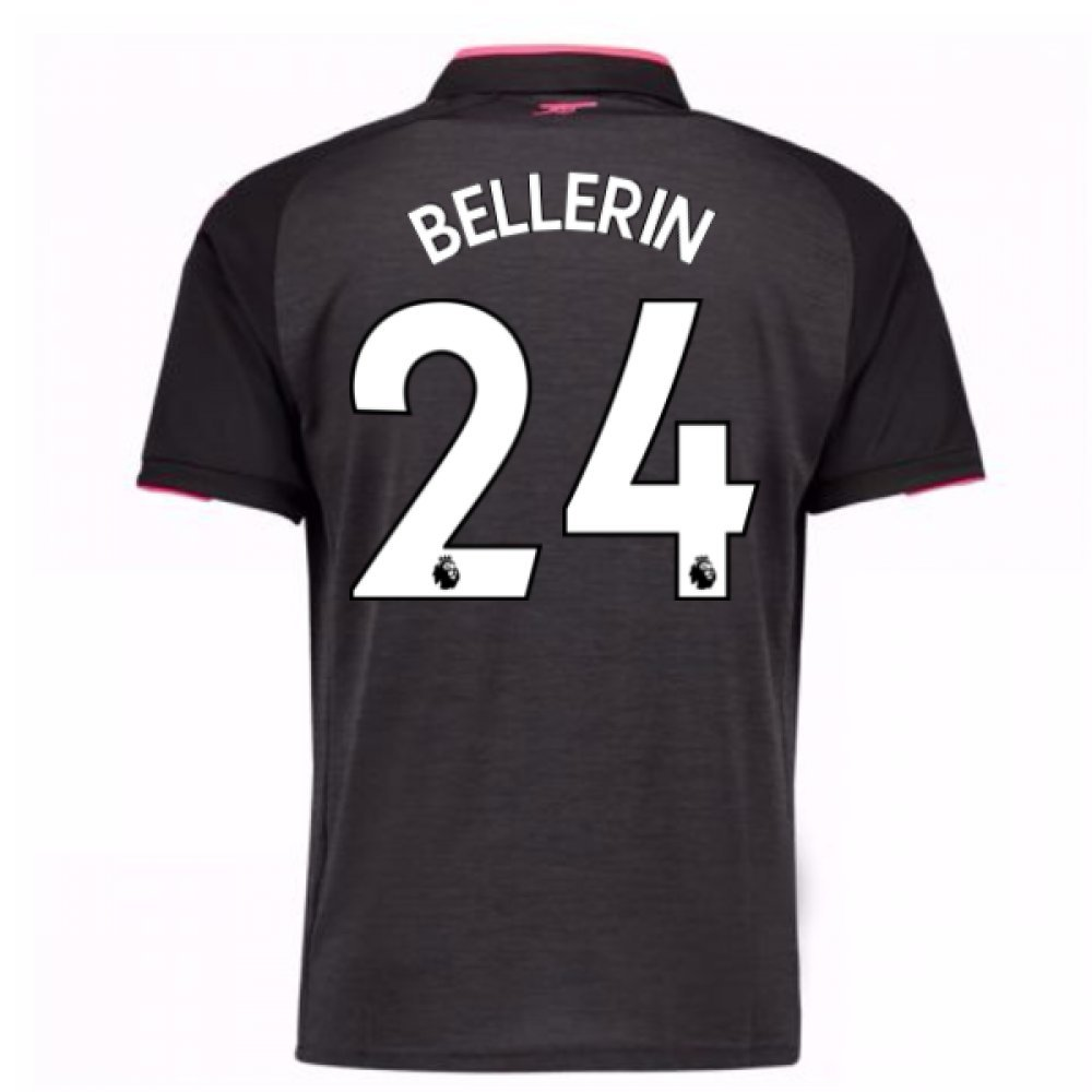 2017-18 Arsenal Third Shirt (Bellerin 24) B07848TMSDGrey Large Adults