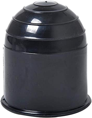 Homyl Schutzkappe Anhängerkupplung Kugelschutzkappe Abdeckkappe Schwarz Auto