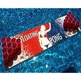 Splash Pong Foam Beer Pong Table, 6ft, Foam, All Weather, Portable