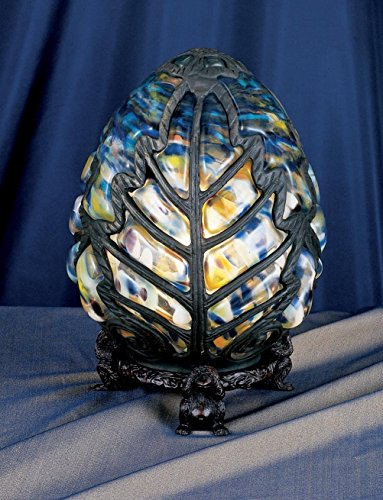 - 9 Inch H Castle Egg Accent Lamp , Novelty Lamps And Accessories , Meyda
