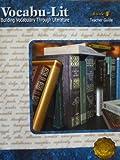 Vocabu-Lit: Building Vocabulary Through Literature, Book F, Teacher Guide