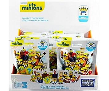 MEGA BLOKS Ninja Turtles Sammelfiguren  Serie 3  12 Tüten