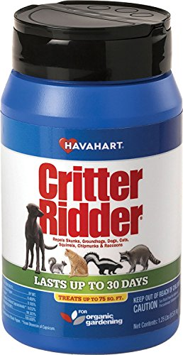 Havahart Critter Ridder 3141 Animal Repellent, 1.25 pound Granular Shaker (Best Time Of Day To See River Otters)