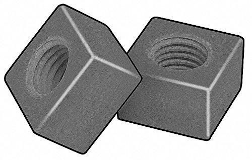 3/4''-10 Square Nut - Regular, Plain Finish, Vinyl Ester Resin, EA1 - Pack of 5 by DYNAFORM