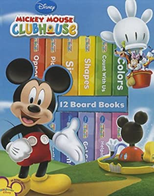 My First Library Mickey Mouse Clubhouse from Publications International, Ltd.